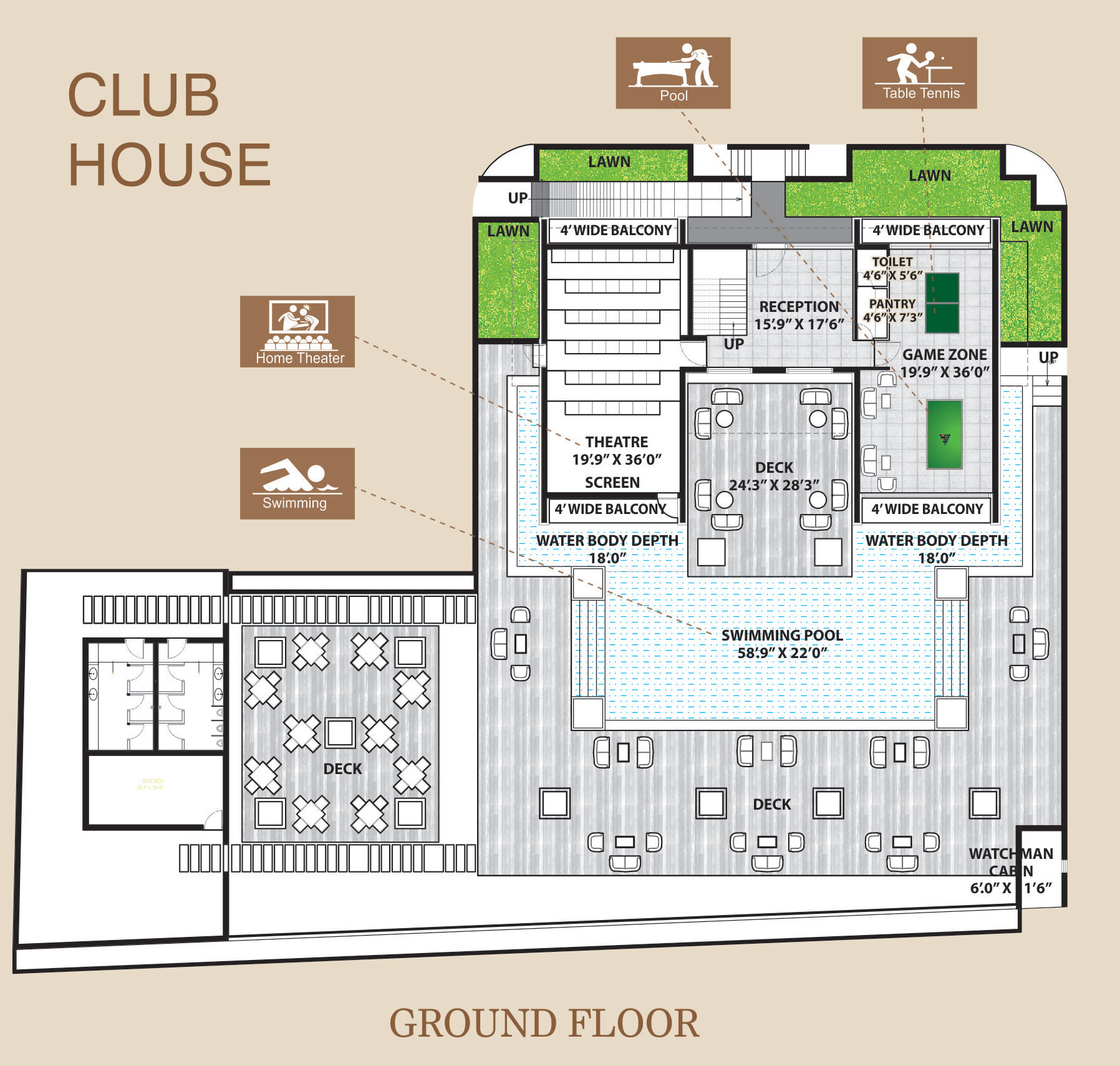 Club house plan 28 images nj zinnia eco friendly House building plans